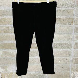 Nine West Black Pull On Stretch Capri Pants
